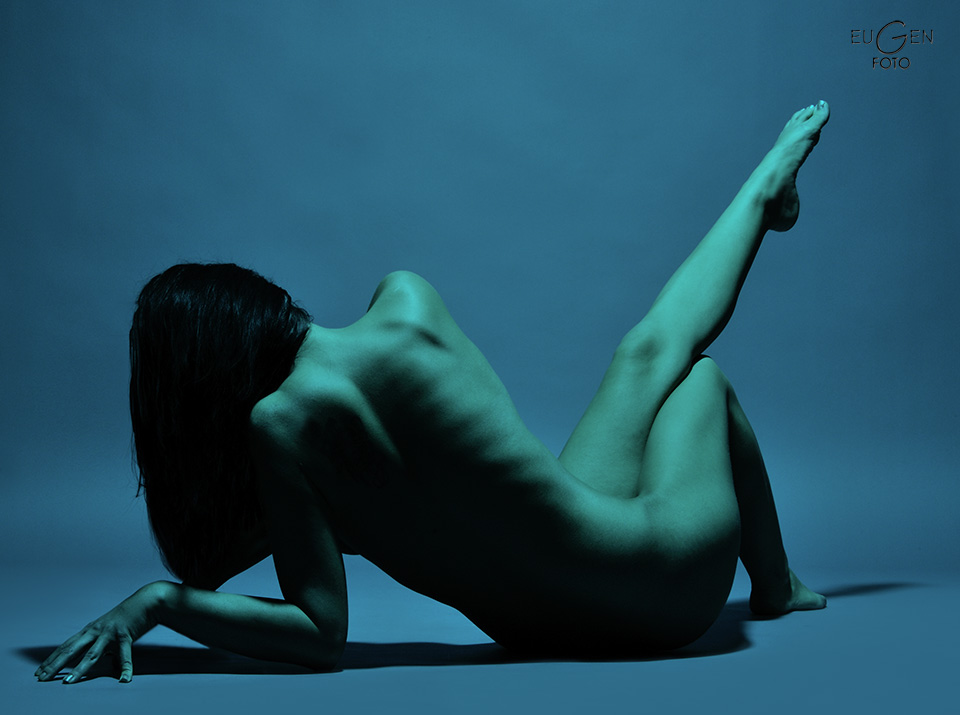 Perfect blue nude #13