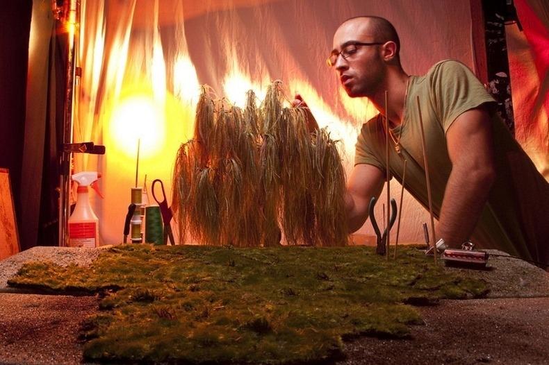 Миниатюрные миры от Мэтью Альбанезе