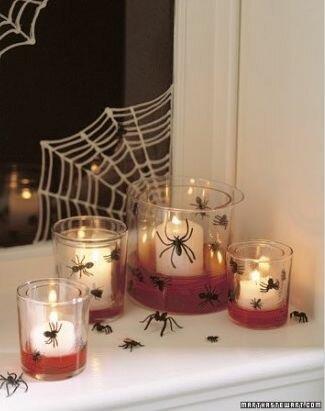 Хэллоуинские свечи