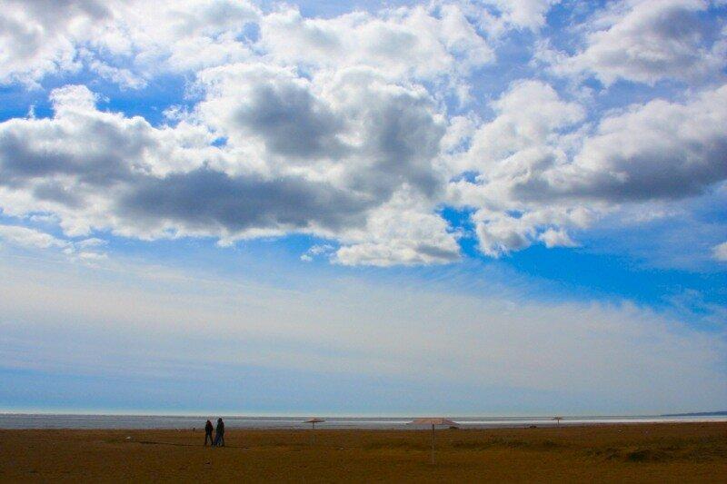 облака над Финским заливом