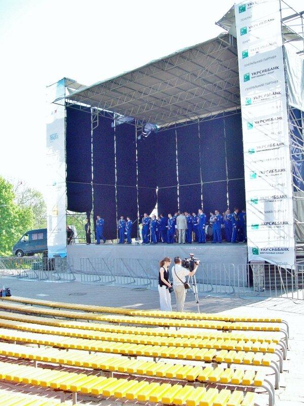 Сцена Певческого поля