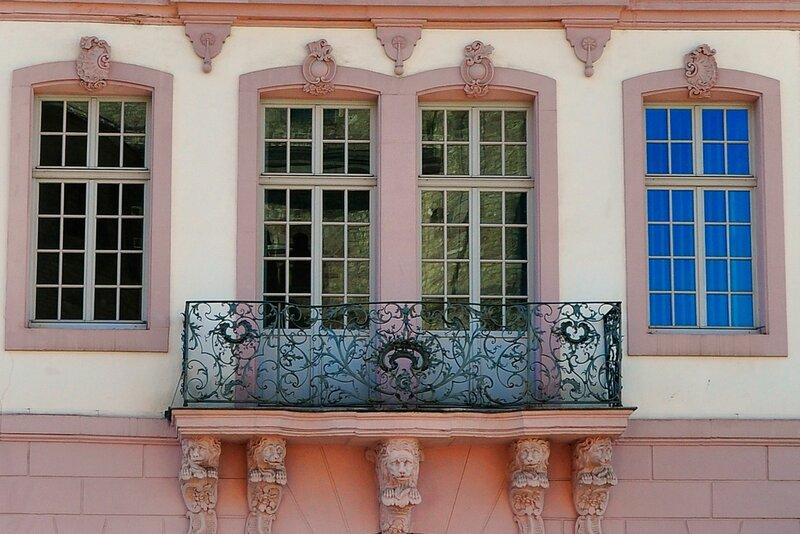 Трир. Балкон.