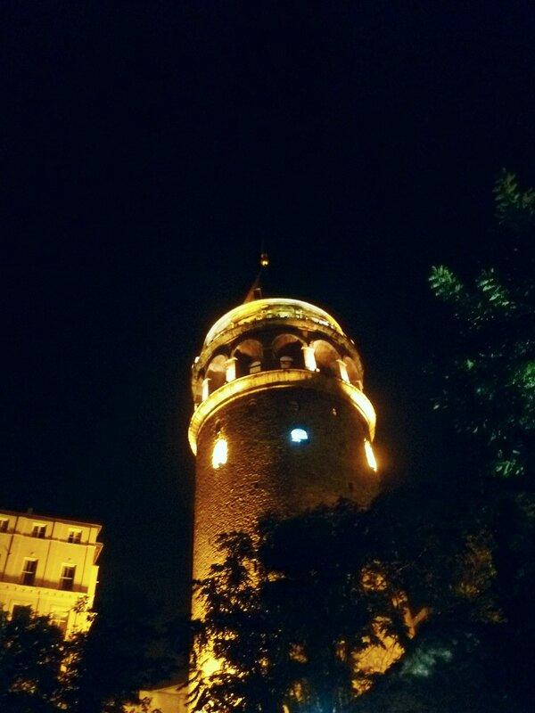 Стамбул. Галатская башня (Istanbul. Galata Tower).