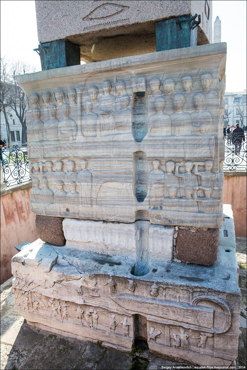 Четыре стамбульские колонны