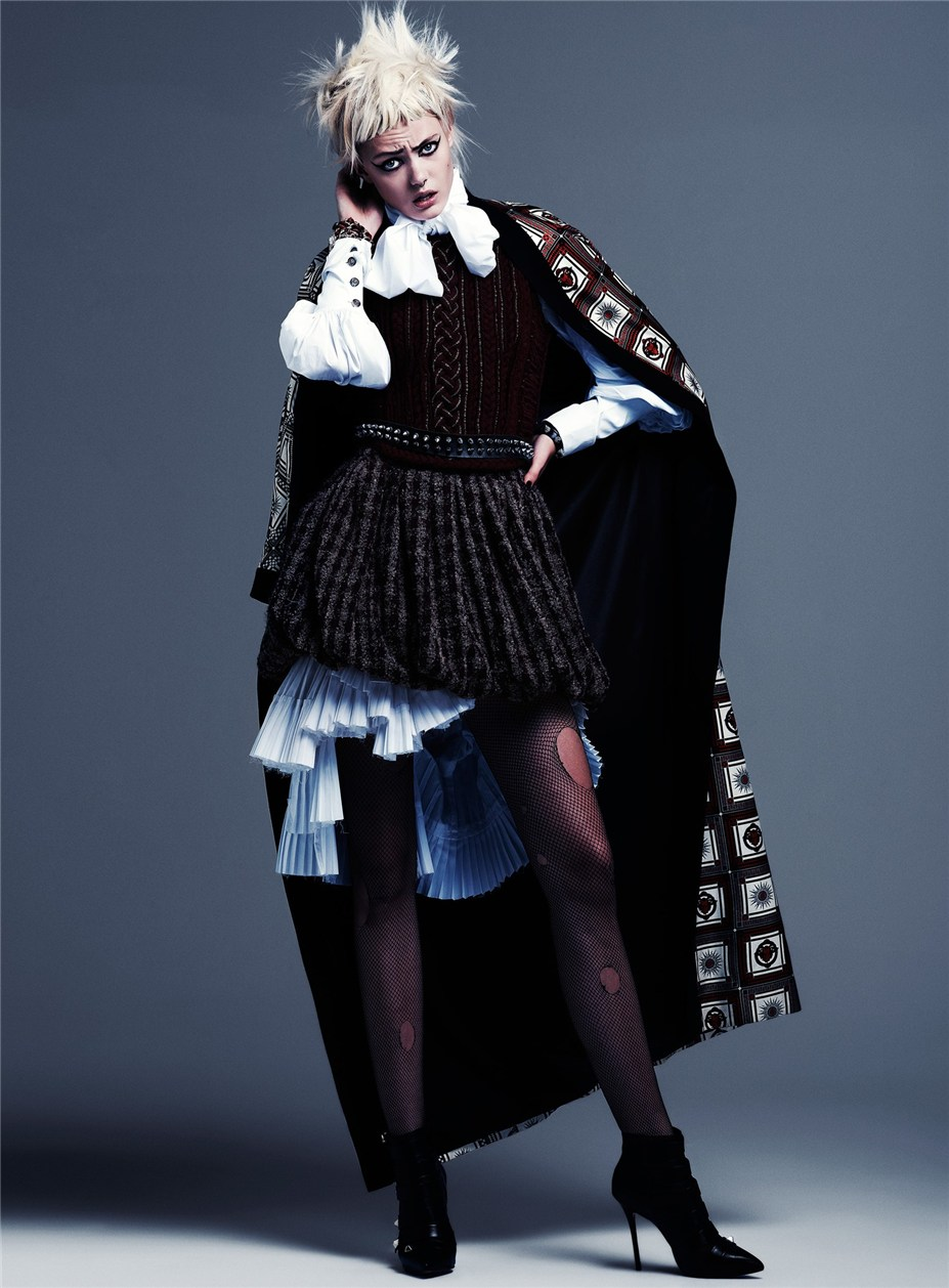 Фрида Густавссон / Frida Gustavsson by Steven Pan in Flair fall 2013