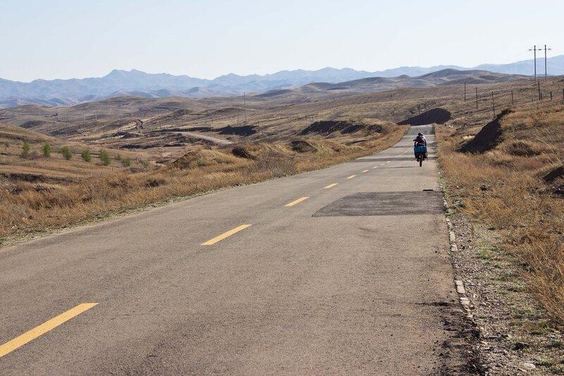 дорога к горам Инь Шань
