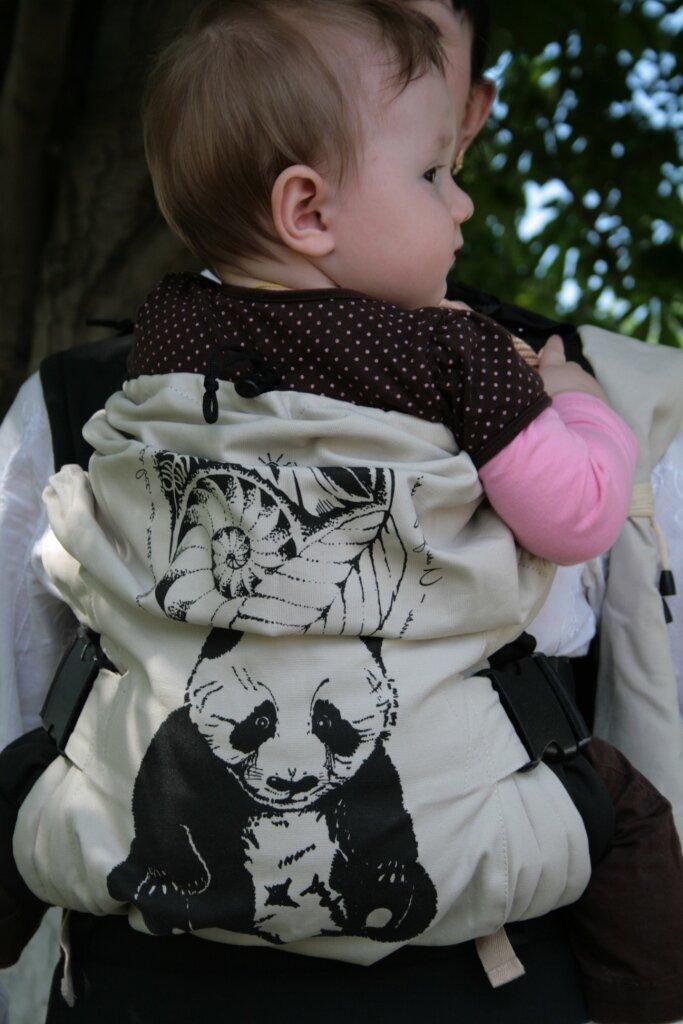 Эргономичный рюкзак Панда