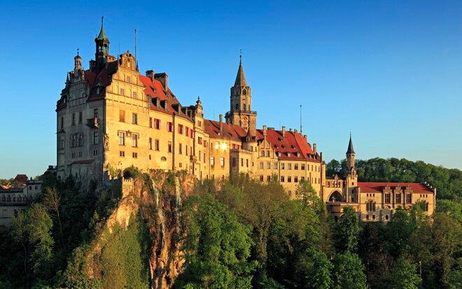 Замок Зигмаринген. Германия