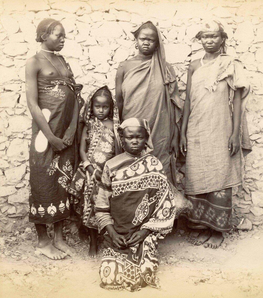 Девушки из Судана. 1880.