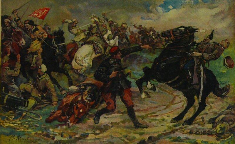 М. И. Авилов.  Олеко Дундич. 1930