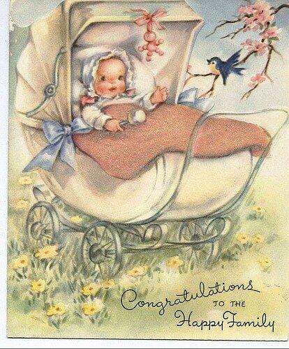 Открытки с рождением сына в стиле прованс работы определяется