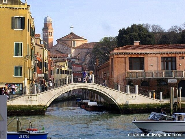 На Большом канале в Венеции ни одного вапоретто во время забастовки