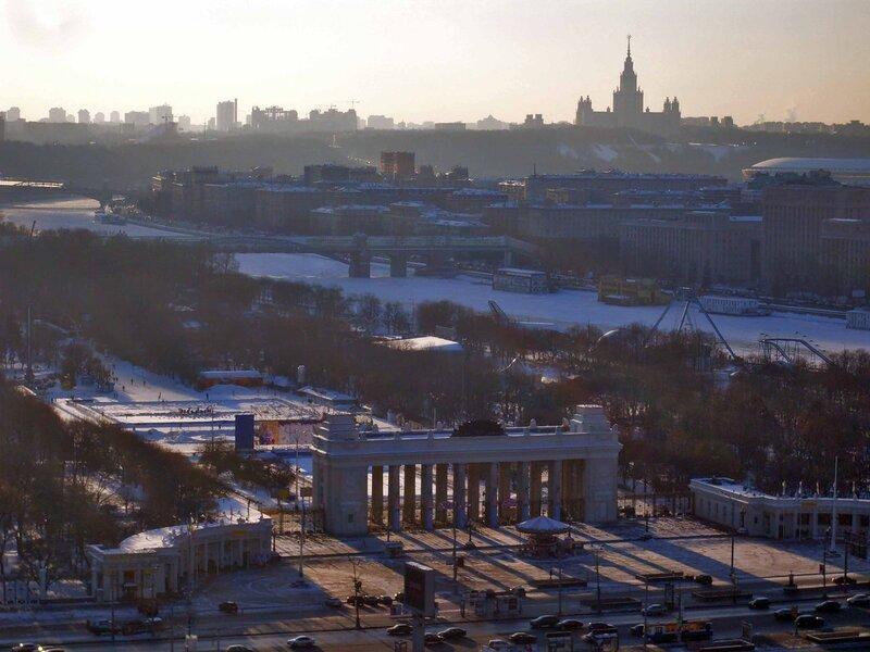 Центральный парк культуры и отдыха им. Горького.