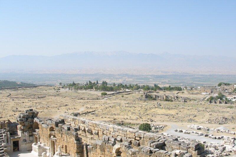 Hierapolis Панорама с театра