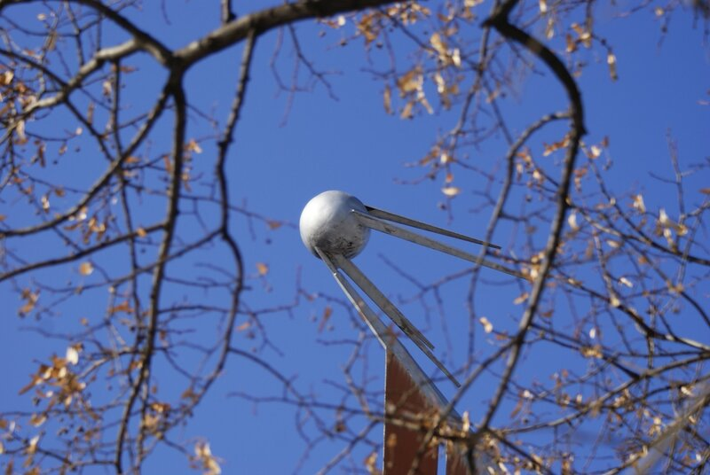 Первый искусственный спутник Земли. С днём Космонавтики!!!
