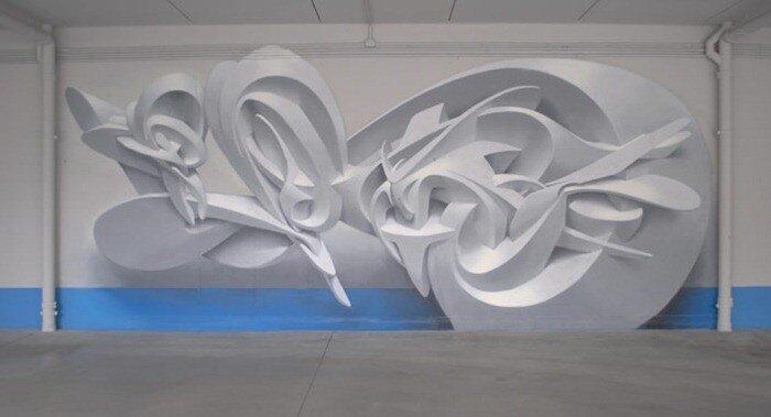 трехмерное граффити