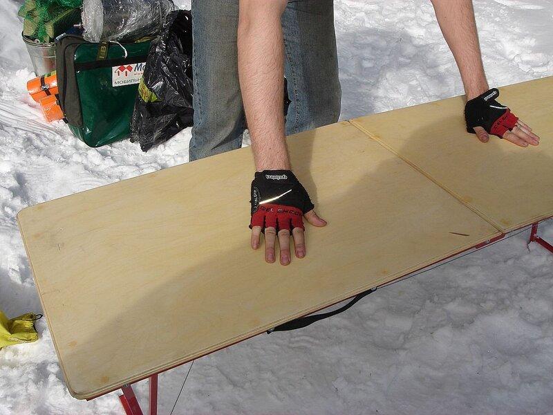 Мобильная баня в обвесе или испытание на снегу