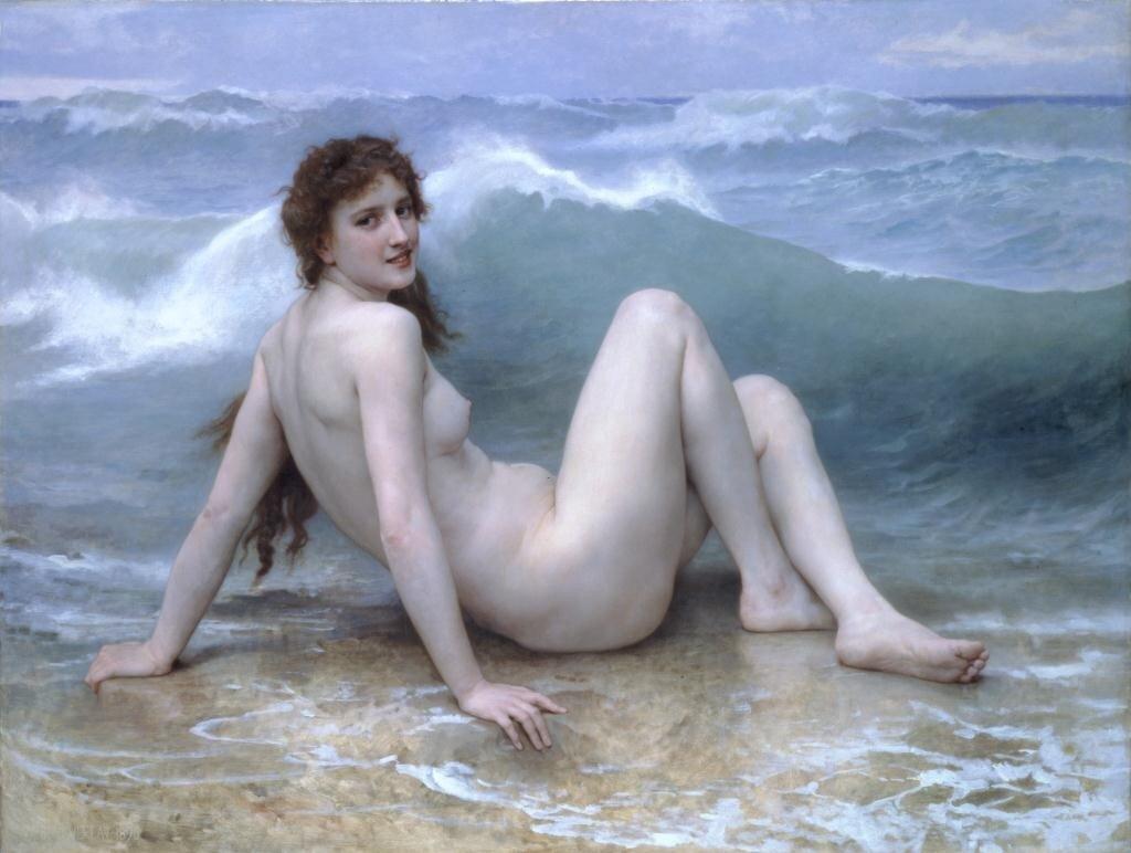 Бугеро, Волна, 1896 г.