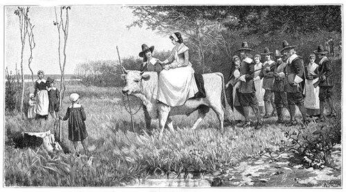 пуританская свадьба