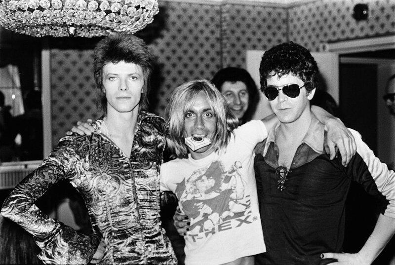 David Bowie (Ziggy Stardust), Iggy Pop & Lou Reed