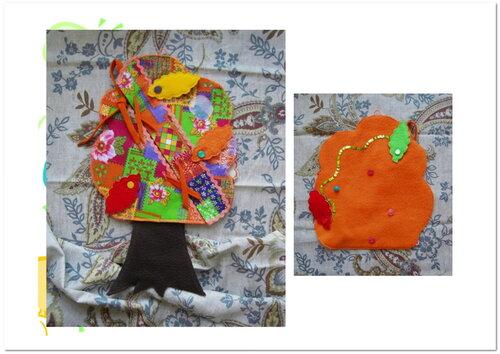Развивающие игрушки своими руками. Вечный календарь ~ Дерево Жизни ~ Октябрь