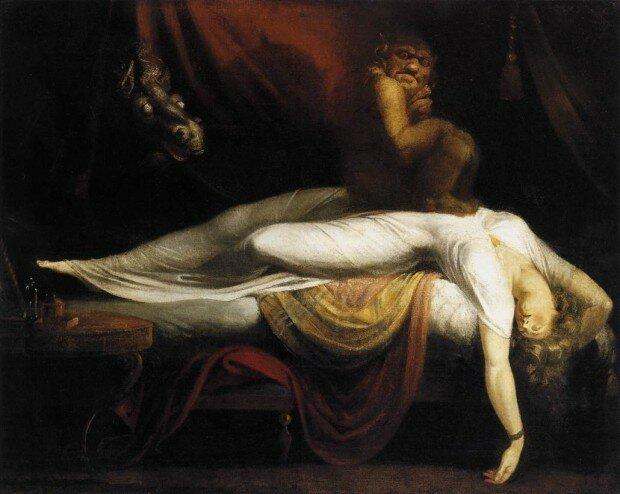 Учёные составили список самых распространённых ночных кошмаров, которые снятся всем людям