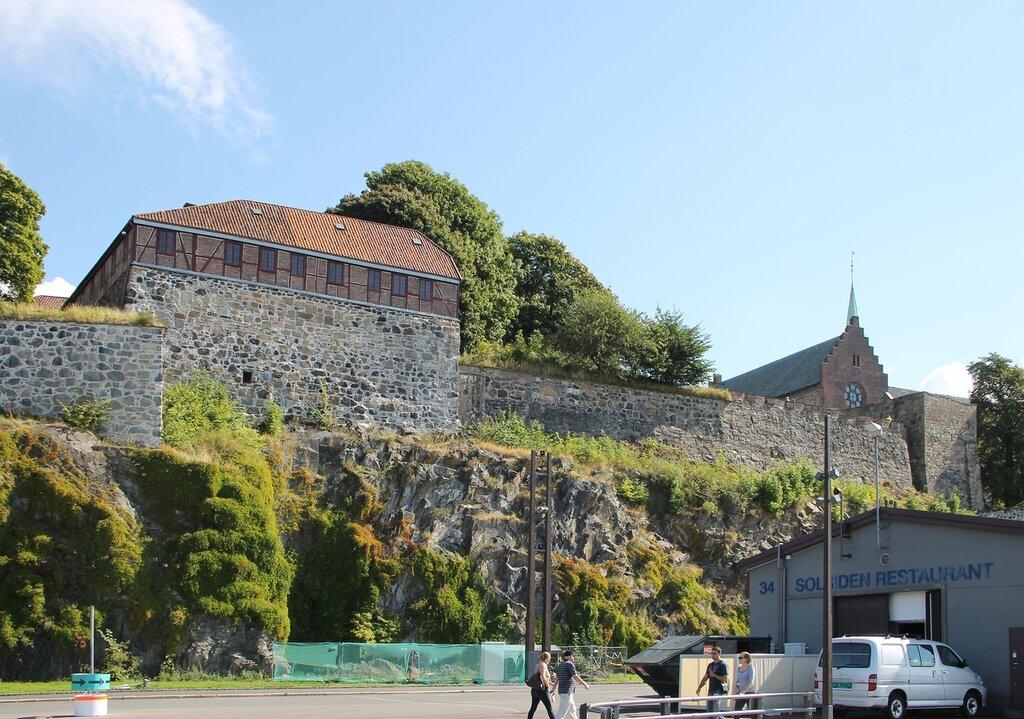 Осло. Крепость Акерсхус, Oslo, Akershus Festning, Akershus slott