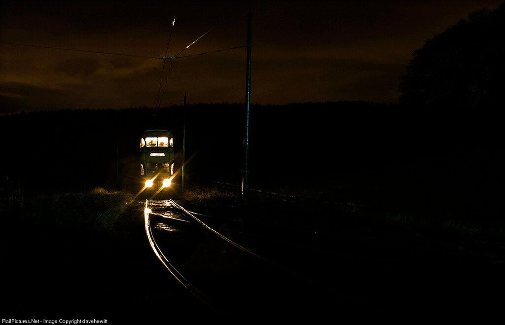 Beamish Tramway, Gateshead, United Kingdom, December 13, 2012
