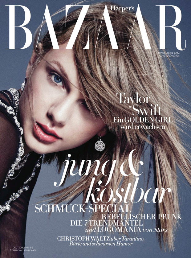 Тейлор Свифт (Taylor Swift) в журнале Harper's Bazaar Germany (7 фото)