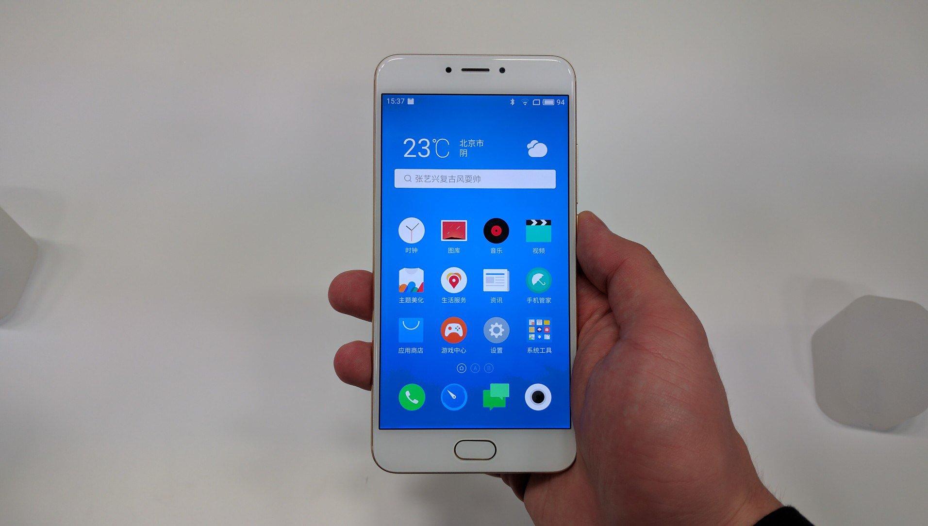 В КНР показали новый смартфон Meizu MX6— общедоступный флагман