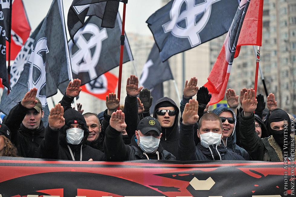"""В Москве прошел """"Русский марш"""": """"Русский значит трезвый"""" - Цензор.НЕТ 9084"""