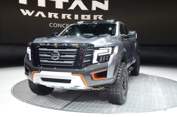 Nissan представил Titan