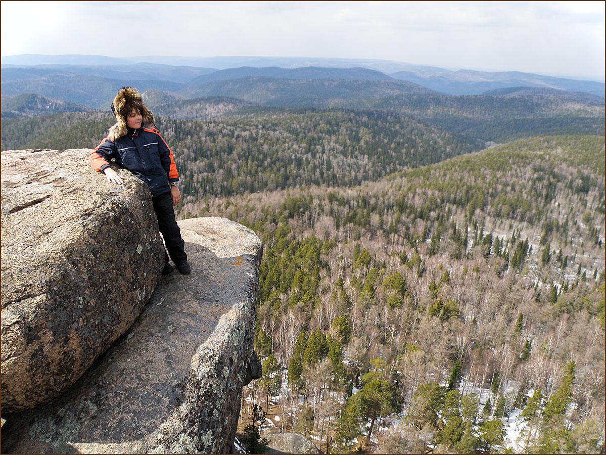 Вид с вершины Первого Столба