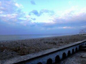 У моря Чёрного, в Абхазии, время зимнее, Новогоднее (3).JPG