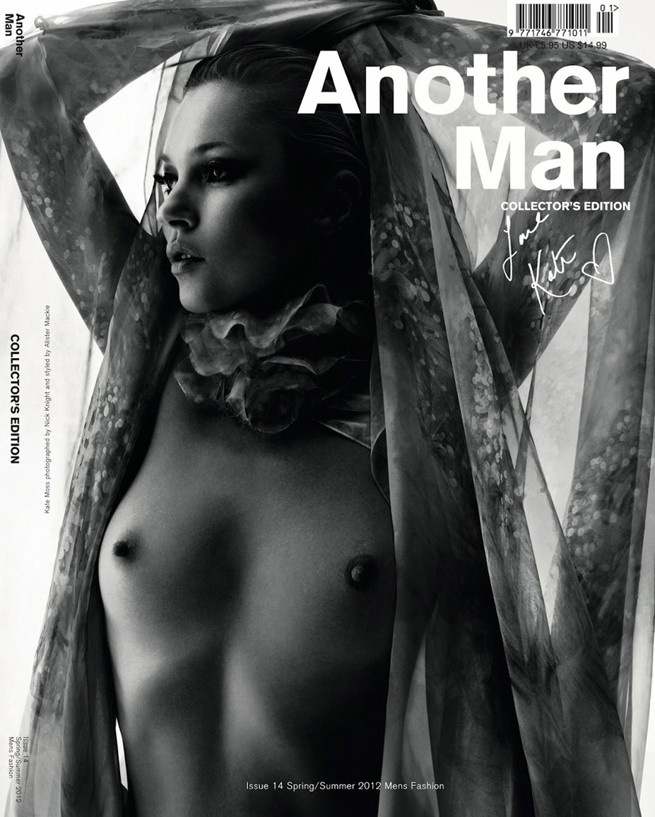 Сексуальная Кейт Мосс / Kate Moss by Nick Knight in Another Man SS12