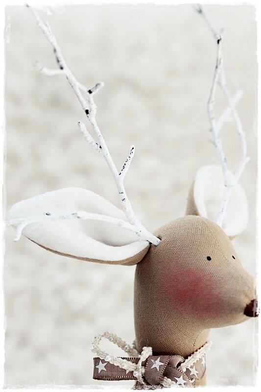 игрушка новогодний олень