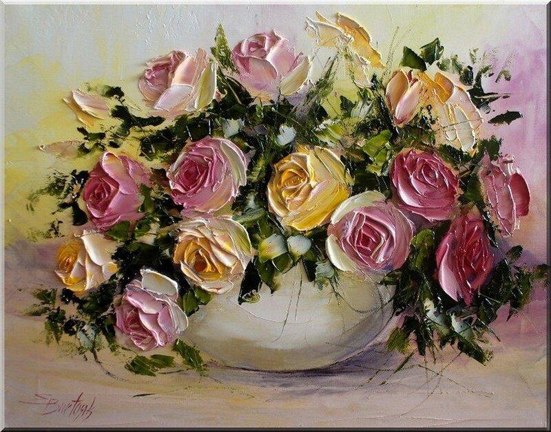 Как прекрасны цветы! Как похожи на нас они, люди… Польская художница Ewa Bartosik