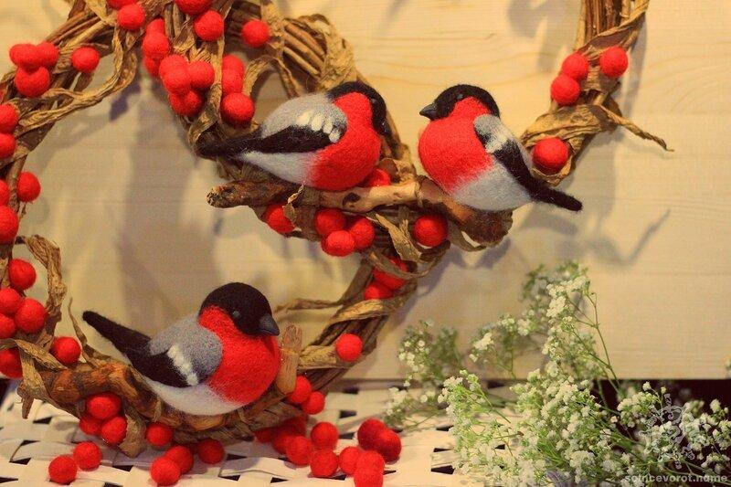 Птицы на ветке своими руками