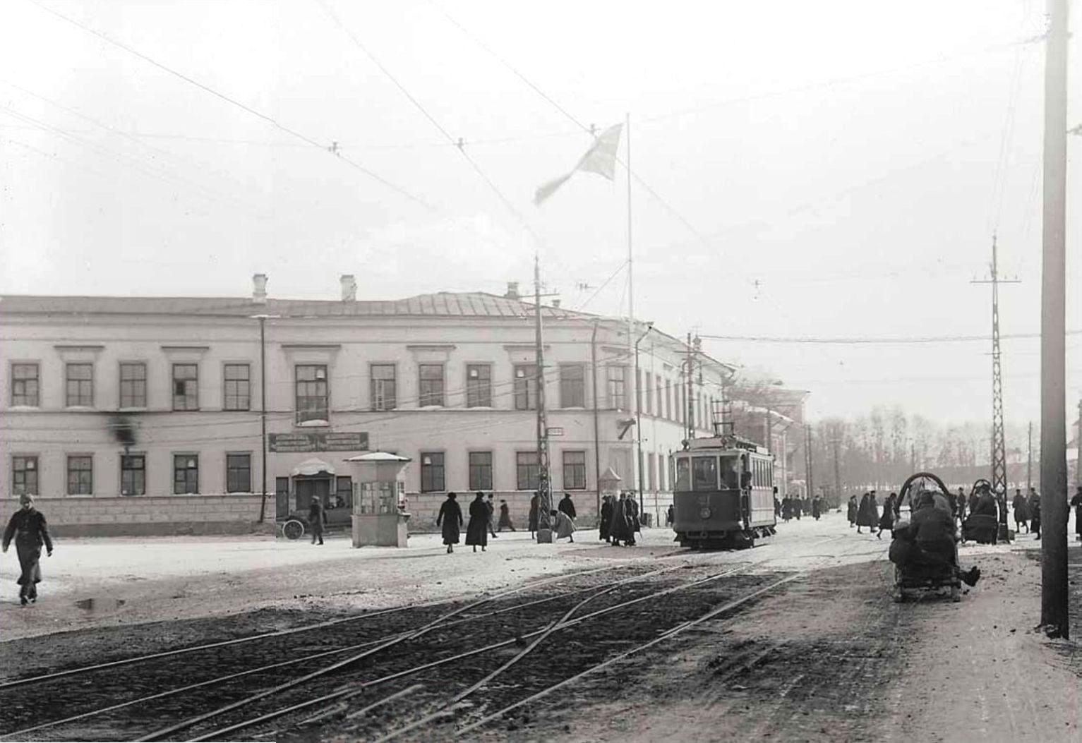 Троицкий проспект. 1919