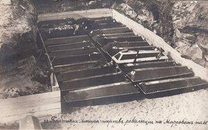 1917. 23 марта. Похороны жертв революции. Братская могила жертв революции