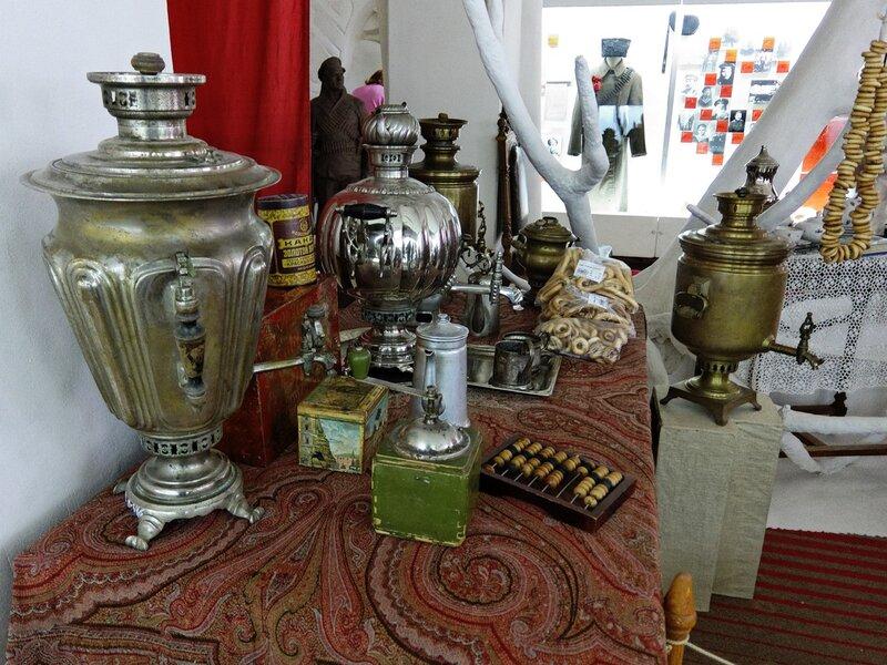 Чайный уголок в краеведческом музее