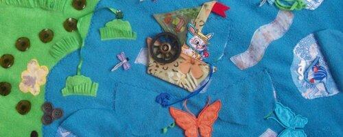 Развивающий коврик... Море