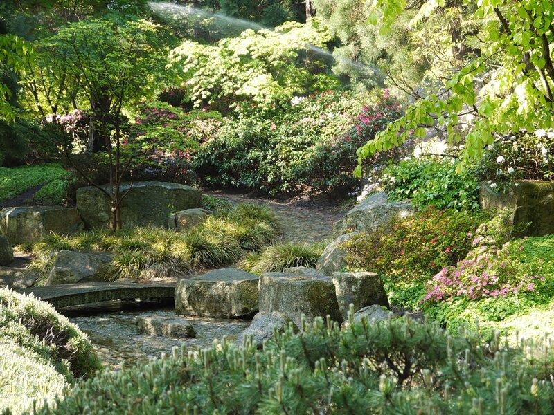 Planten un Blomen - ботанический сад Гамбурга