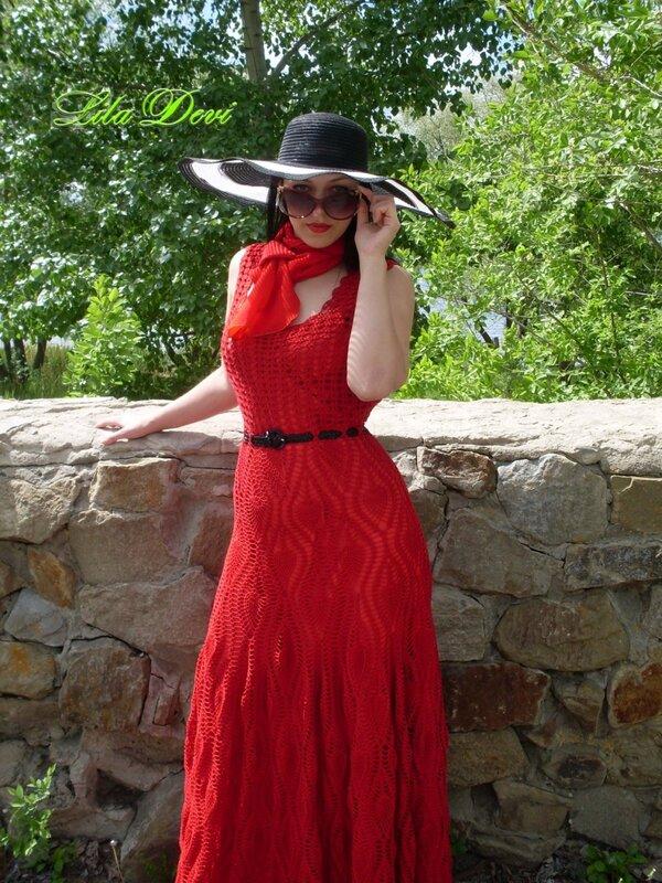 f13f26963fc04db Платье ананасы в пол - Модадром