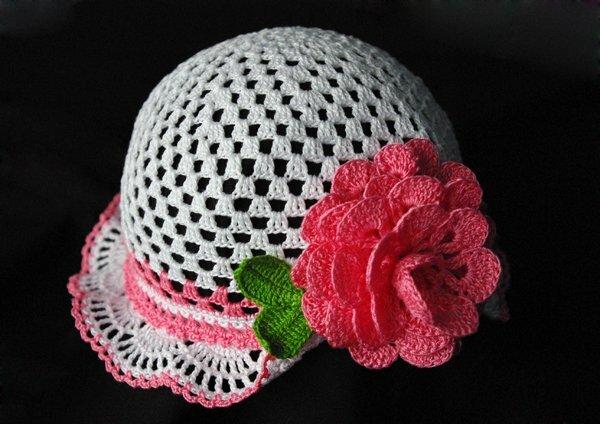 Представленные шляпки-панамки