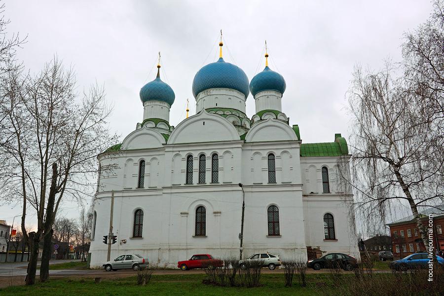 Углич. Богоявленский монастырь. Собор Богоявления Господня.