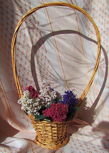 плетение из бисера.