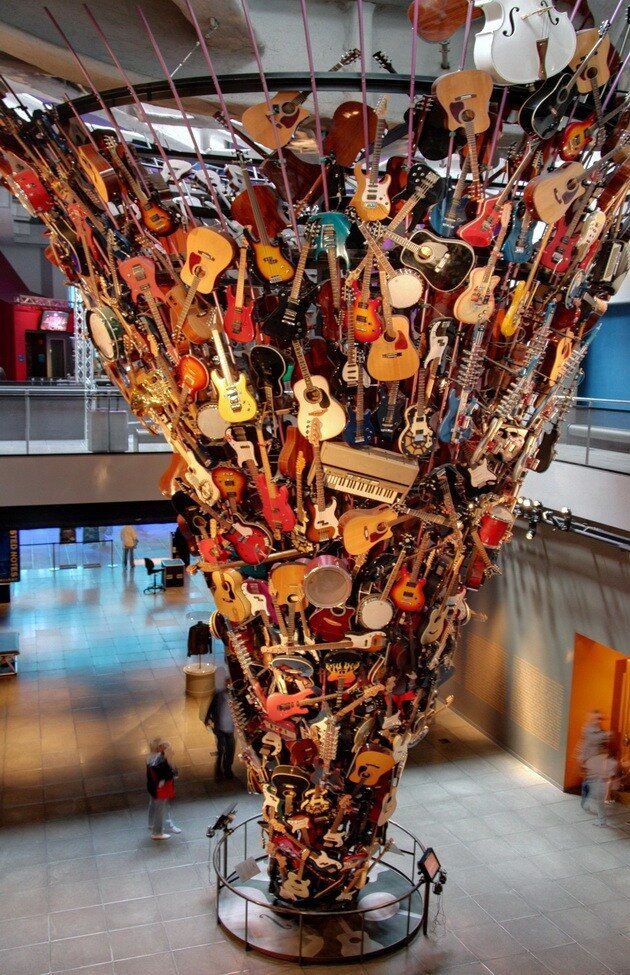 Experience Music Project. Сиэтл, США