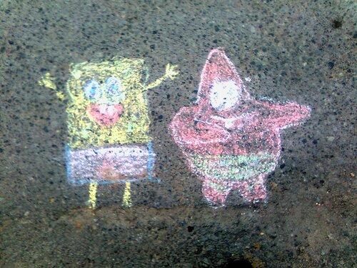 Губка Боб и Патрик - мировое турне :-)