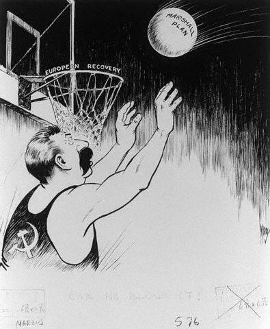 Карикатуры на Сталина